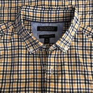 Banana Republic Shirt Button Down Camden Fit